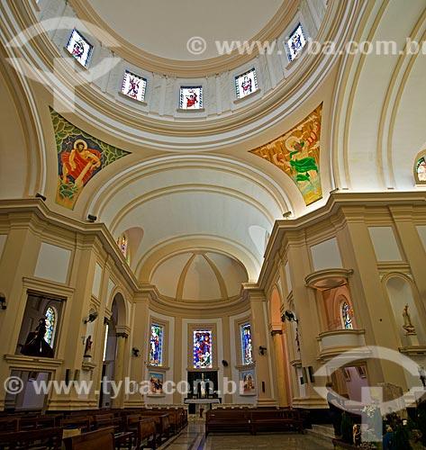 Assunto: Interior da Igreja Matriz do Bom Jesus da Cana Verde (1953) - a Igreja possui a maior concentração de pinturas de Cândido Portinari / Local: Batatais - São Paulo (SP) - Brasil / Data: 12/2012
