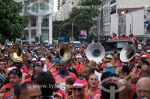 Assunto: Desfile da Banda de Ipanema / Local: Ipanema - Rio de Janeiro (RJ) - Brasil / Data: 01/2013