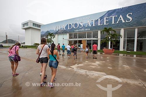 Assunto: Turistas da cidade de Santa Maria (RS) visitam as obras de construção da futura Vila Olímpica Rio 2016 / Local: Barra da Tijuca - Rio de Janeiro (RJ) - Brasil / Data: 01/2013