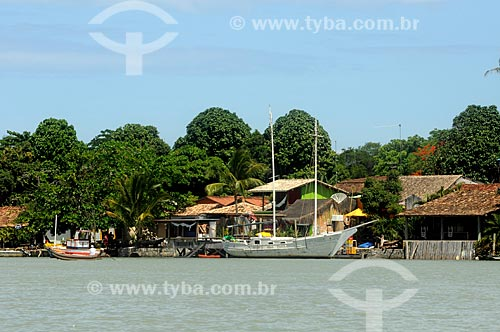 Assunto: Cais na Vila de Caraíva / Local: Porto Alegre - Rio Grande do Sul (RS) - Brasil / Data: 01/2013