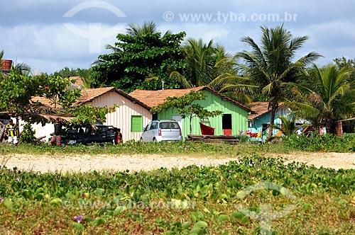 Assunto: Casas em vila de Corumbau / Local: Prado - Bahia (BA) - Brasil / Data: 01/2013