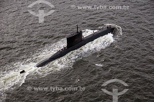 Assunto: Submarino Tamoio - S31 (1995) / Local: Rio de Janeiro (RJ) - Brasil / Data: 08/2008