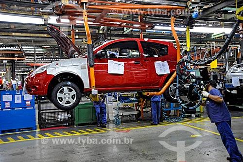 Assunto: Linha de montagem do carro Ford Ka / Local: São Bernardo do Campo - São Paulo (SP) - Brasil / Data: 2009