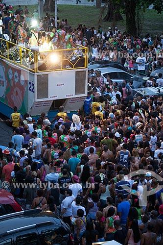 Assunto: Bloco da Rádio Beat 98 / Local: Praça Luiz de Camões - Glória - Rio de Janeiro (RJ) - Brasil / Data: 02/2013