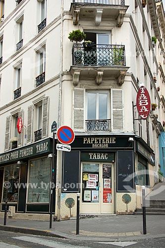 Assunto: Tabacaria em Paris / Local: Paris - França - Europa / Data: 06/2012