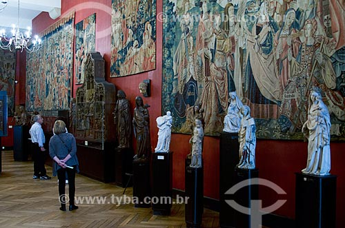 Assunto: Interior do Musée National du Moyen Age (Museu Nacional da Idade Média) - também conhecido como Museu de Cluny / Local: Paris - França - Europa / Data: 05/2012
