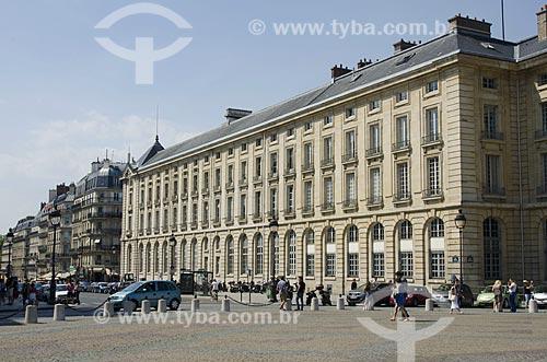 Assunto: Universidade de Sorbonne - também conhecida como Universidade de Paris - prédio da Faculdade de Direito / Local: Paris - França - Europa / Data: 05/2012