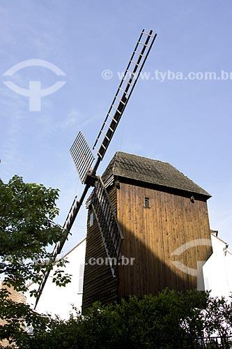 Assunto: Le Moulin de la Galette / Local: Montmartre - Paris - França - Europa / Data: 06/2012