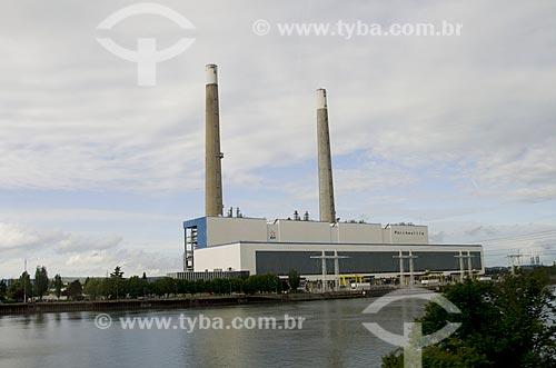 Assunto: Centrale Thermique de Porcheville (Central Termoelétrica de Porcheville)  / Local: Porcheville - França - Europa / Data: 06/2012