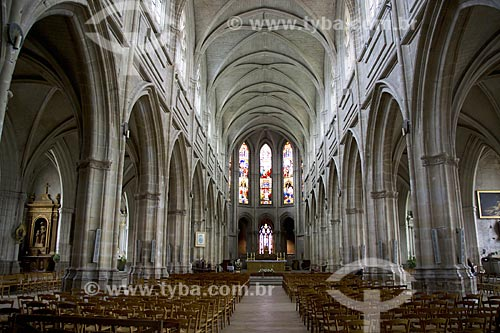 Assunto: Cathédrale Saint-Louis de Blois (Catedral de São Luis de Blois) - também conhecida como Cathédrale Blois (Catedral de Blois) / Local: Blois - França - Europa / Data: 06/2012