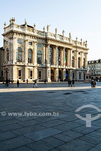 Assunto: Palazzo Madama na Praça do Castelo (Piazza Castello) / Local: Turim - Província de Turim - Itália / Data: 12/2012