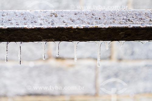 Assunto: Gelo na Praça da Catedral (Piazza del Duomo) / Local: Milão - Província de Milão - Itália - Europa / Data: 12/2012