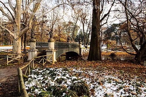 Assunto: Parque Sempione (Parco Sempione) no inverno, na região da Lombardia / Local: Milão - Província de Milão - Itália / Data: 12/2012