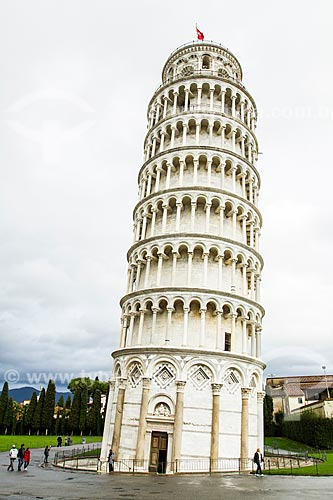 Assunto: Torre de Pisa na Praça dos Milagres (Piazza dei Miracoli) / Local: Província de Pisa - Itália - Europa / Data: 12/2012