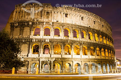 Assunto: Coliseu (Anfiteatro Flávio) / Local: Roma - Itália - Europa / Data: 12/2012