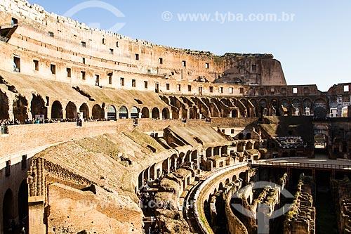 Assunto: Interior do Coliseu / Local: Roma - Itália - Europa / Data: 12/2012