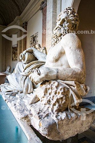 Assunto: Escultura Deus do Rio, no Museu do Vaticano / Local: Cidade do Vaticano - Roma - Itália - Europa / Data: 12/2012