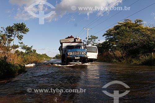 Assunto: BR-319 alagada durante cheia dos rios do Amazonas / Local: Amazonas (AM) - Brasil / Data: 05/2012