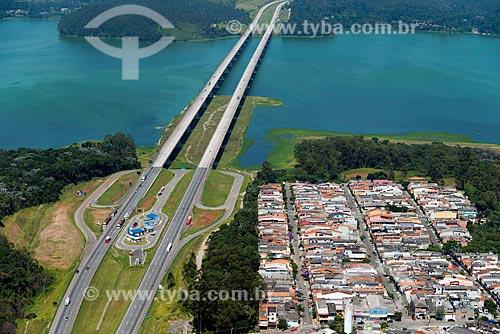 Assunto: Trecho do Rodoanel Mário Covas - também conhecido como Rodoanel Metropolitano de São Paulo - e ponte sobre a Represa Billings / Local: São Bernardo do Campo - São Paulo (SP) - Brasil / Data: 02/2013
