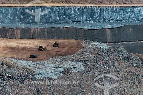 Assunto: Aterro Sanitário da cidade de Caieiras / Local: Caieiras - São Paulo (SP) - Brasil / Data: 02/2013