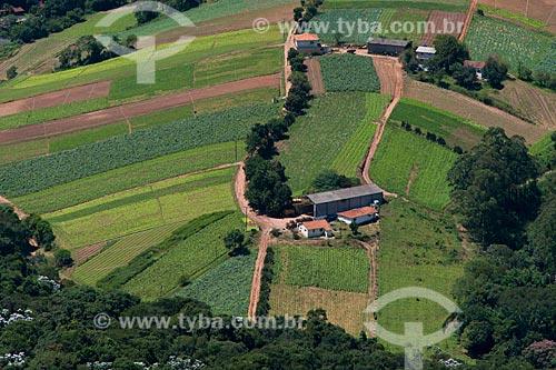 Assunto: Hortas em propriedade rural / Local: Caieiras - São Paulo (SP) - Brasil / Data: 02/2013