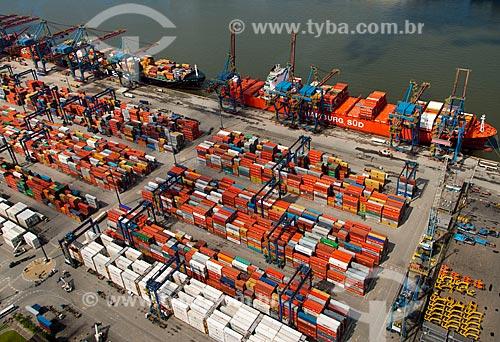 Assunto: TECON - Terminal de containers de Santos / Local: Vicente de Carvalho - Guarujá - São Paulo (SP) - Brasil / Data: 02/2013