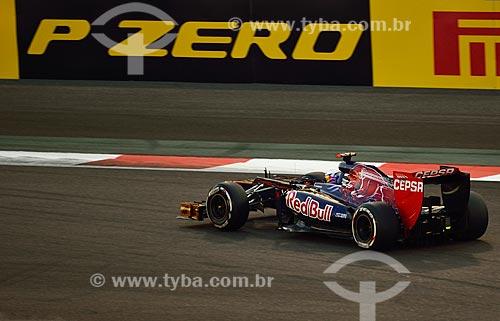 Assunto: Daniel Ricardo (Toro Rosso) durante o Grande Prêmio de Fórmula 1 no Autódromo de Abu Dhabi (Circuito de Yas Marina) / Local: Ilha Yas - Abu Dhabi - Emirados Árabes Unidos - Ásia / Data: 11/2012