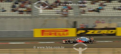 Assunto: Jenson Button (McLaren) durante o Grande Prêmio de Fórmula 1 no Autódromo de Abu Dhabi (Circuito de Yas Marina) / Local: Ilha Yas - Abu Dhabi - Emirados Árabes Unidos - Ásia / Data: 11/2012