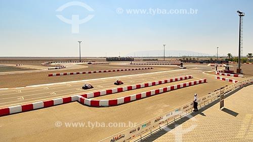 Assunto: Corrida de kart em Al Ain Raceway / Local: Al Ain - Emirados Árabes Unidos - Ásia / Data: 11/2012