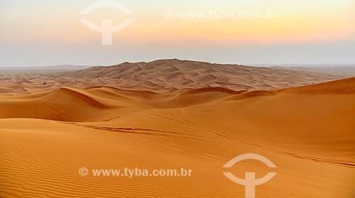 Assunto: Dunas no deserto de Sharjah / Local: Sharjah - Emirados Árabes Unidos - Ásia / Data: 10/2012