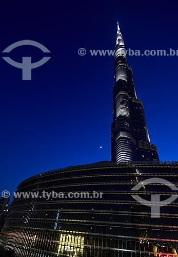 Assunto: Edifício Burj Khalifa / Local: Dubai - Emirados Árabes Unidos - Ásia / Data: 10/2012