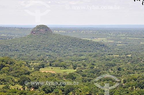 Assunto: Morro do Chapéu na Serra de Maracaju / Local: Aquidauana - Mato Grosso do Sul (MS) - Brasil / Data: 01/2013