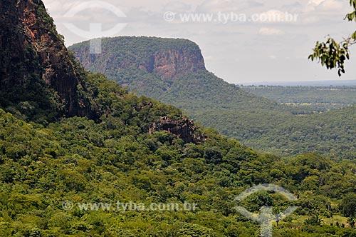 Assunto: Morro Azul na Serra de Maracaju / Local: Aquidauana - Mato Grosso do Sul (MS) - Brasil / Data: 01/2013