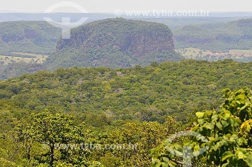 Assunto: Vista da Serra de Maracaju / Local: Aquidauana - Mato Grosso do Sul (MS) - Brasil / Data: 01/2013