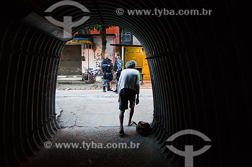 Assunto: Ocupação no conjunto de favelas do Cajú para implantação da Unidade de Policia Pacificadora (UPP) / Local: Rio de Janeiro (RJ) - Brasil / Data: 03/2013
