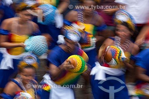 Assunto: Desfile de bloco durante o carnaval de rua / Local: Olinda - Pernambuco (PE) - Brasil / Data: 02/2013