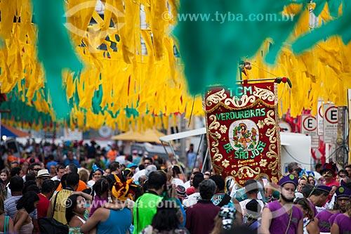 Assunto: Desfile do Bloco Verdureiras de São José na Rua Mariz e Barros durante o carnaval / Local: Recife - Pernambuco (PE) - Brasil / Data: 02/2013