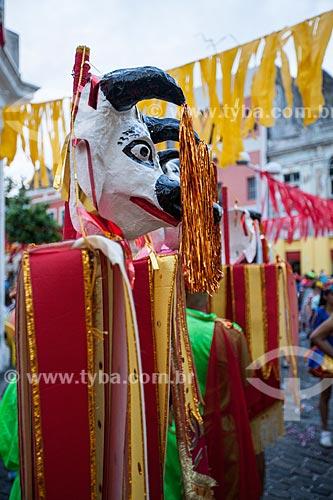 Assunto: Alegoria da Troça Carnavalesca Tô Chegando Agora durante o carnaval / Local: Recife - Pernambuco (PE) - Brasil / Data: 02/2013