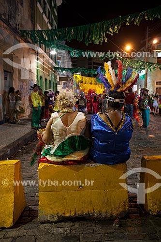Assunto: Foliões do Clube das Pás durante o carnaval / Local: Recife - Pernambuco (PE) - Brasil / Data: 02/2013