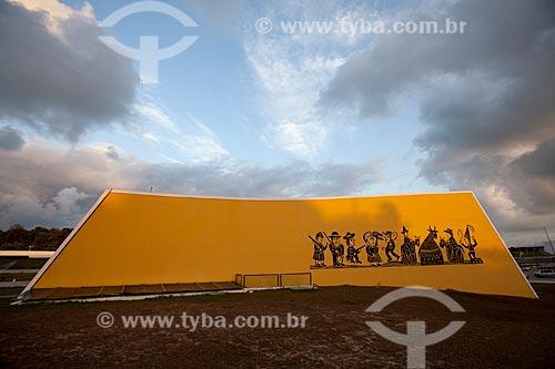 Assunto: Auditório da Estação Cabo Branco (2008) - também conhecida como Estação Ciência, Cultura e Artes / Local: João Pessoa - Paraíba - Brasil / Data: 02/2013