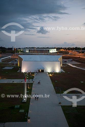 Assunto: Vista do auditório a partir do terraço da Torre Mirante da Estação Cabo Branco (2008) - também conhecida como Estação Ciência, Cultura e Artes / Local: João Pessoa - Paraíba (PB) - Brasil / Data: 02/2013