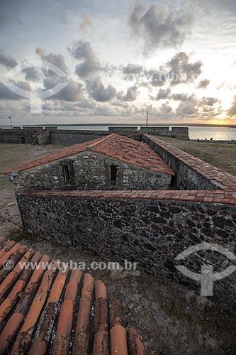 Assunto: Casa da Pólvora do Forte de Santa Catarina do Cabedelo (1585) - também conhecida como Fortaleza de Santa Catarina / Local: Cabedelo - Paraíba (PB) - Brasil / Data: 02/2013