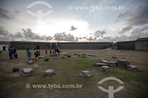 Assunto: Forte de Santa Catarina do Cabedelo (1585) - também conhecida como Fortaleza de Santa Catarina / Local: Cabedelo - Paraíba (PB) - Brasil / Data: 02/2013