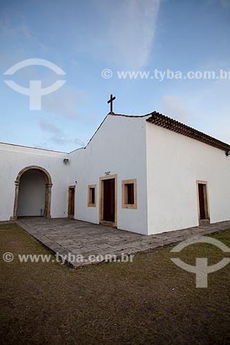 Assunto: Capela do Forte de Santa Catarina do Cabedelo (1585) - também conhecida como Fortaleza de Santa Catarina / Local: Cabedelo - Paraíba (PB) - Brasil / Data: 02/2013