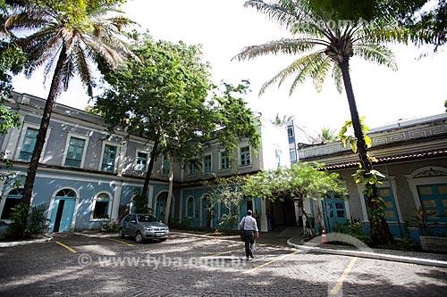 Assunto: Pátio da Fundação Joaquim Nabuco - Campus Gilberto Freyre / Local: Recife - Pernambuco (PE) - Brasil / Data: 02/2013