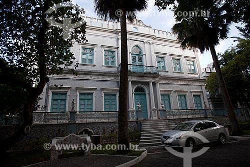Assunto: Fachada da Fundação Joaquim Nabuco - Campus Gilberto Freyre / Local: Recife - Pernambuco (PE) - Brasil / Data: 02/2013