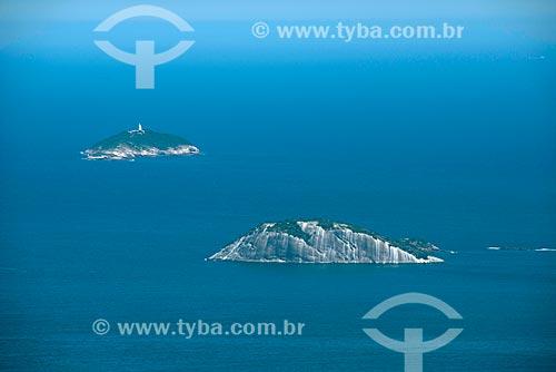 Assunto: Ilha cagarra e Ilha Rasa ao fundo / Local: Rio de Janeiro (RJ) - Brasil / Data: 02/2013