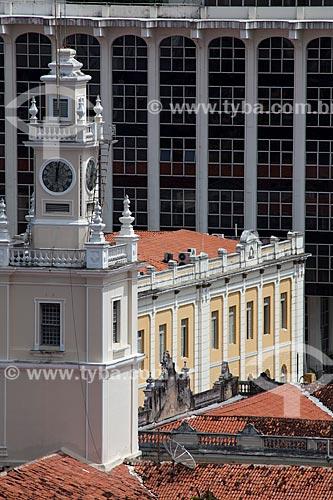 Assunto: Torre da Faculdade de Direito UFPB - Campus de Santa Rita - e Tribunal de Justiça ao fundo - prédios antigo e novo / Local: João Pessoa - Paraíba (PB) - Brasil / Data: 02/2013