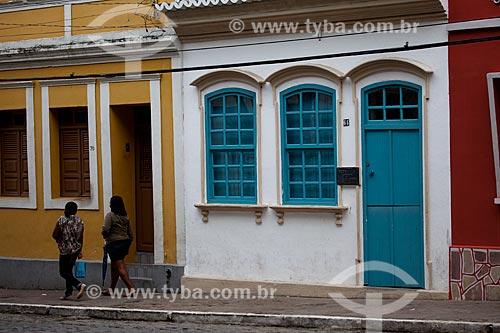 Assunto: Casa Museu Pedro Américo na rua Pedro Américo, 66 - casa onde nasceu o escritor, filósofo e pintor Pedro Américo de Figueiredo e Melo / Local: Areia - Paraíba (PB) - Brasil / Data: 02/2013