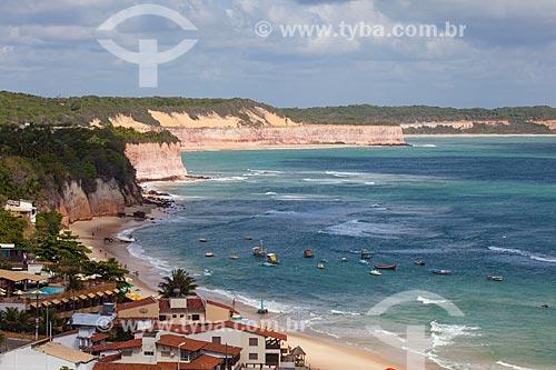 Assunto: Casas e Praia do Centro no distrito de Pipa / Local: Distrito de Pipa - Tibau do Sul - Rio Grande do Norte (RN) - Brasil / Data: 03/2013